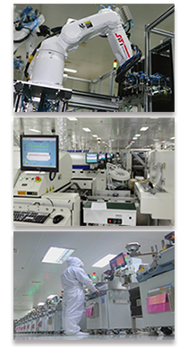 Automated electronic assembly equipment